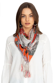 Johnny Was October Floral Scarf - C94719-8