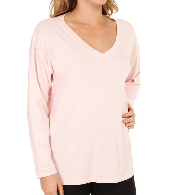 PJ Harlow Women's Lucy Oversized V-Neck Shirt - PJJ07