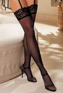Shirley of Hollywood Lace Top Thigh High - 90026