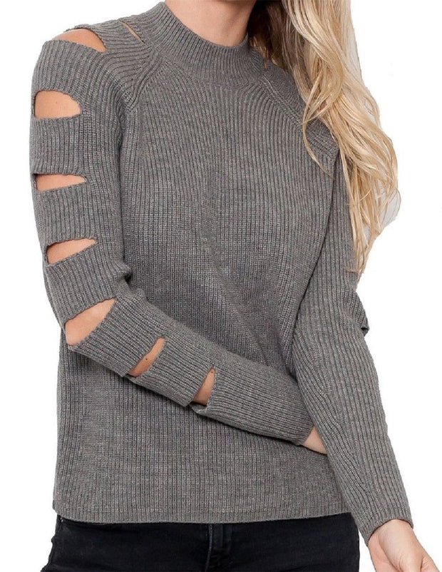 Love Token Fallon Cut Out Knit Sweater - LT86-18