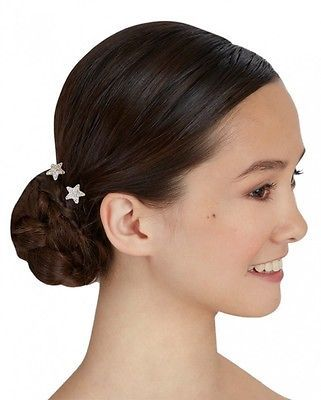Capezio Women's Daisy Hair Pin Silver Clear One Size - ABH4014