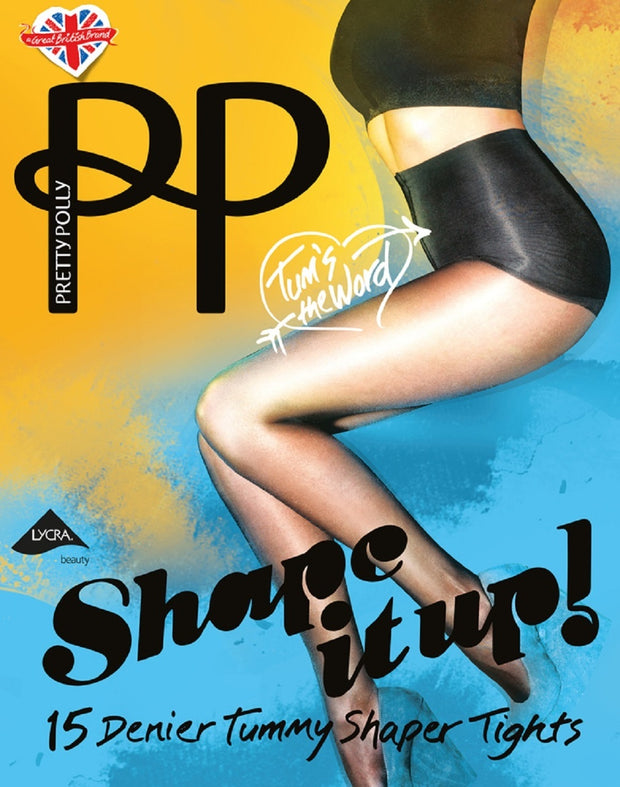 Pretty Polly Shape It Up Tummy Shaper Tights - PNARE9
