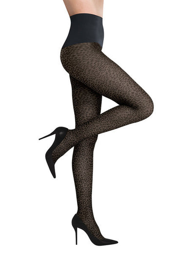 Commando Hoisery Cougar Leg Tights - HTCG1BLK