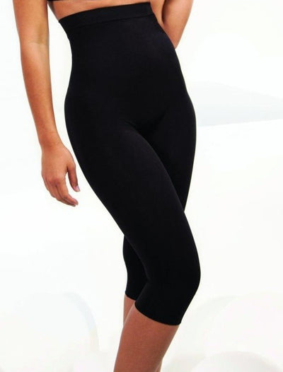 Rhonda Shear Seamless High Waist Capri Leggings - R1387
