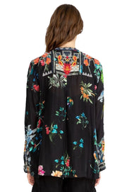Johnny Was Veda Silk Blouse - B17119A8