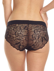 Commando Love + Lust All Lace Back Bikini Panty - BK09