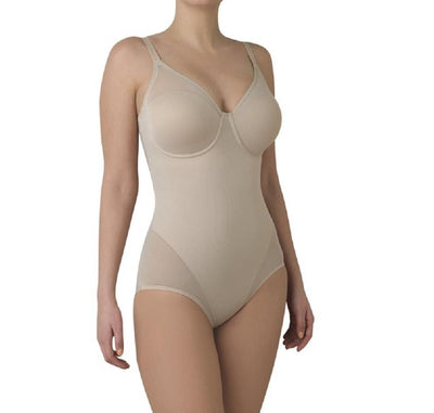 TC Fine Intimates Sheer Shaping and Comfort Bodybriefer - 4221