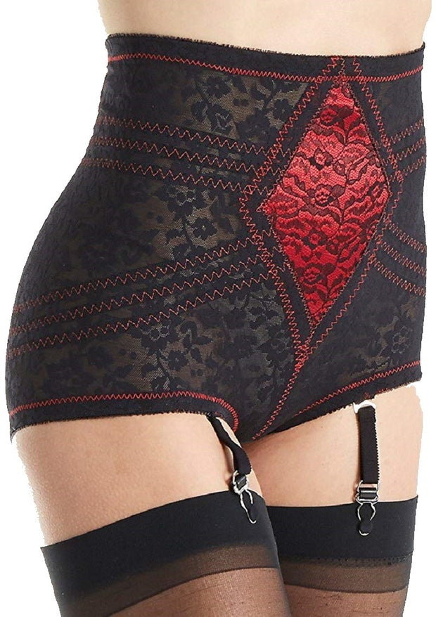 Rago Firm Control Lacette Brief Panty - 6197