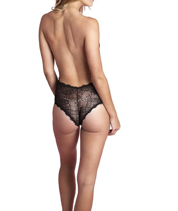 Fashion Forms Women's Lace Backless Strapless Bodysuit - 29073