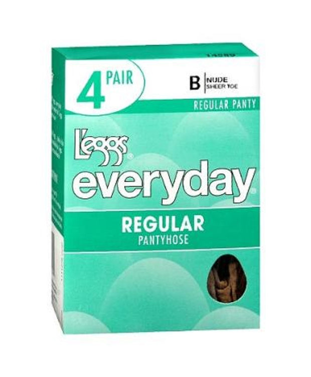 L'eggs Everyday Regular ST 4 Pair Pantyhose - 39500
