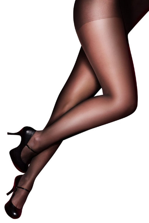Pretty Polly Curves Ladder Resist 15 Denier Tights 3-Pair Pack - PMGK30