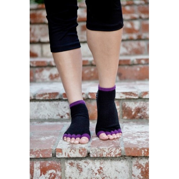 Toezies The Original 1-2 Toe Socks for Yoga-Pilates Sugar Plum