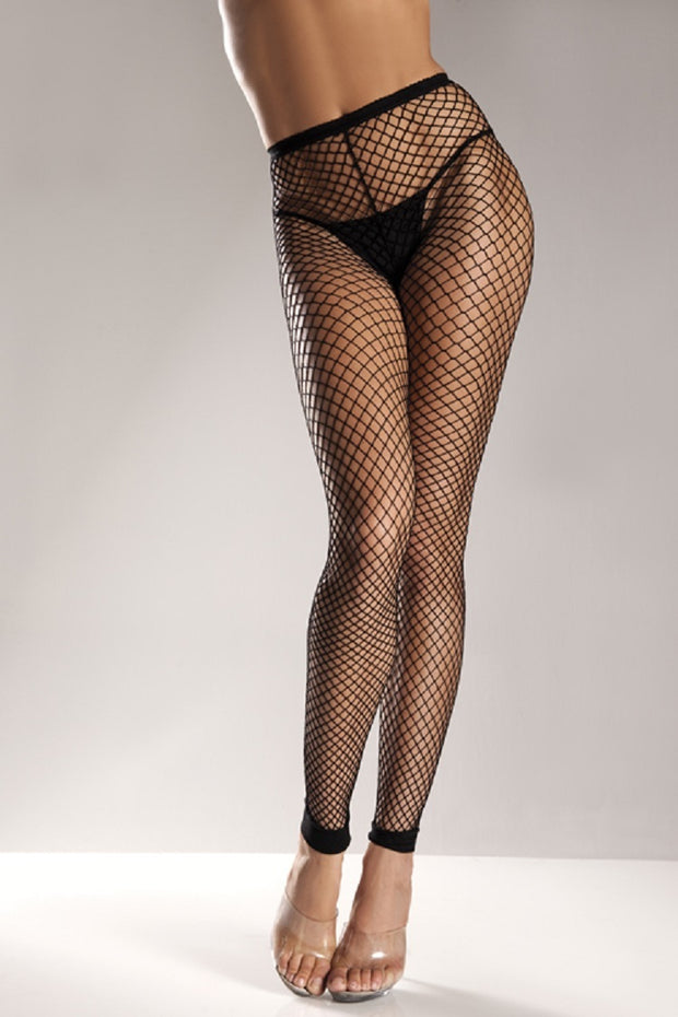 Be Wicked! Spandex Net Footless Tights Style BW597