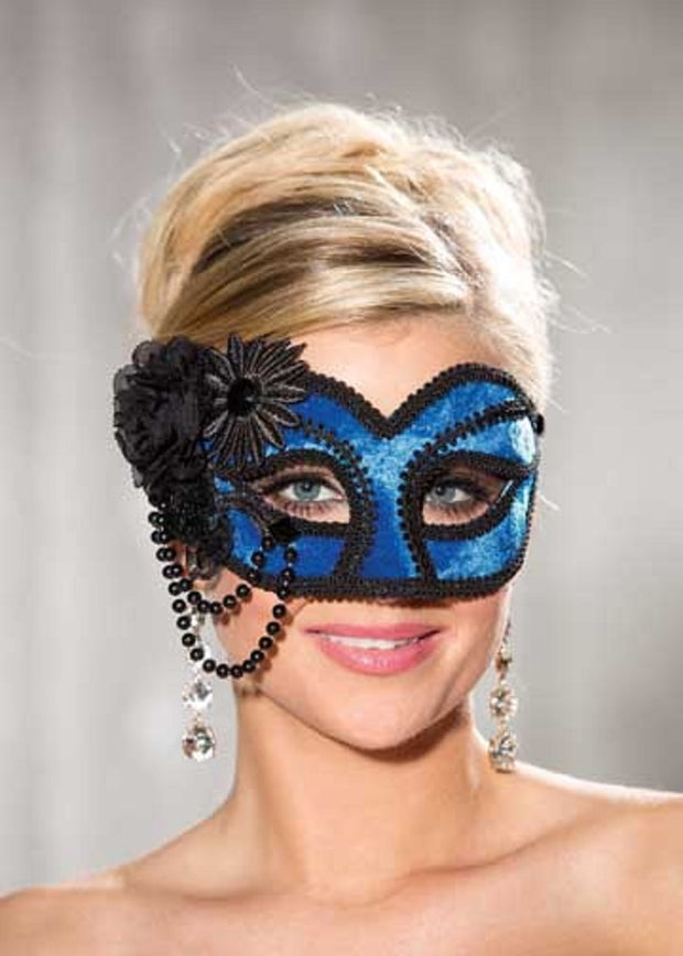 Shirley of Hollywood Royal Velvet Half Mask - 916
