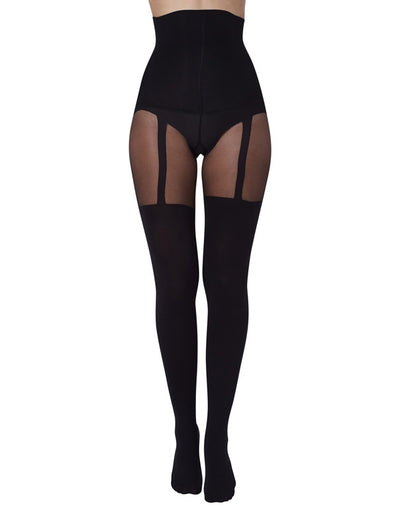 Pretty Polly Shape It Up Suspender Shaper Tights - PNARF3