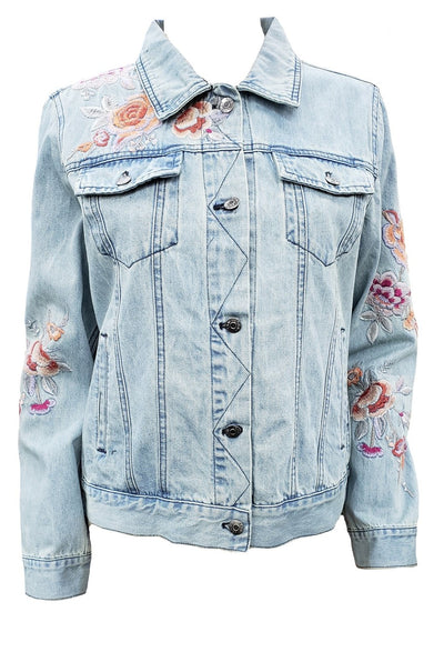 Johnny Was Caelynn Denim Jacket - W47920-1