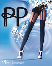 Pretty Polly Pretty Suspended Tights One Size - PNAKQ2