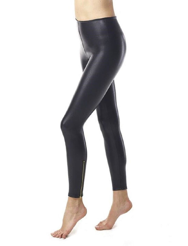 Commando Faux Leather Zipper Legging - SLG14
