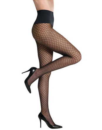 Commado Hosiery Lurex Dazzling Diamond Tights - HLXT02