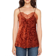 Johnny Was Love & Liberty Lacey Leaf Cami - 1899LL
