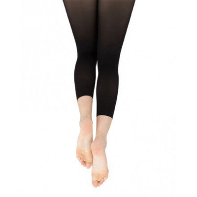 Capezio Women's Footless Tight With Self Knit Waist Band - 1917