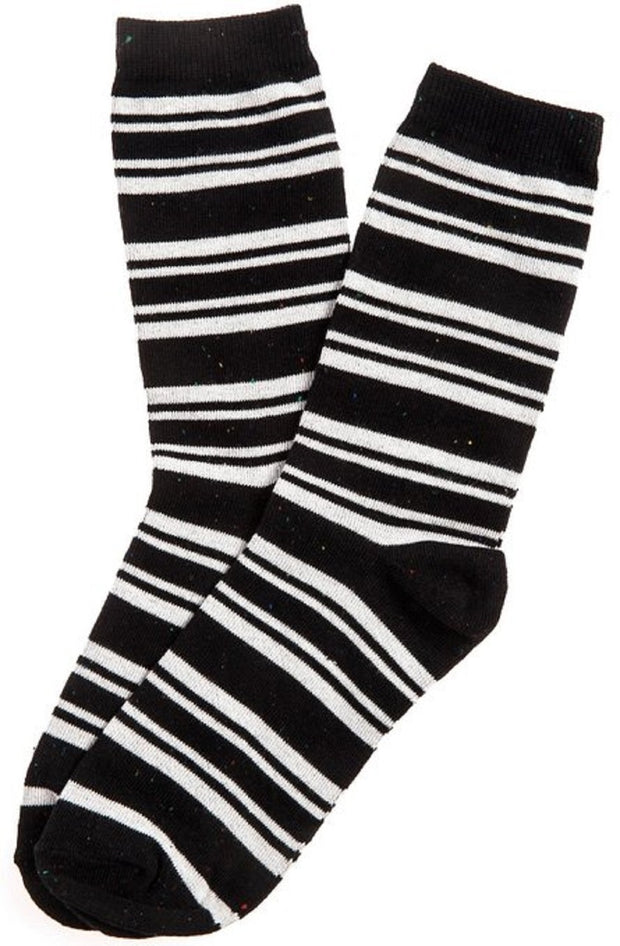 K. Bell Women's Preppy Striped Crew Sock One Size - 66929