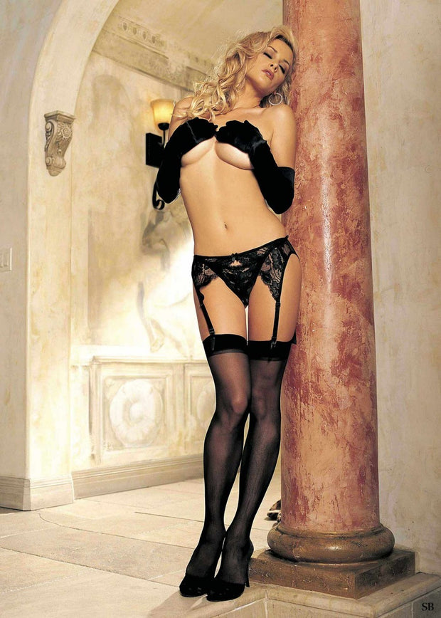 Shirley of Hollywood Sheer Stretch Stocking - 5027