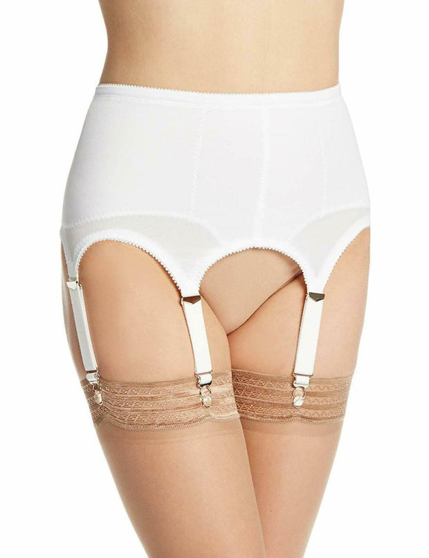 Rago Women's Six-Strap Shaper Garter Belt - 72522