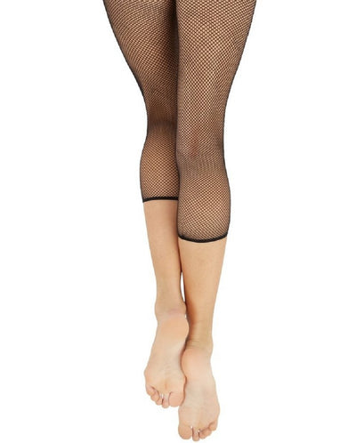 Capezio Women's Crop Studio Capri Fishnet Tights - 3409W