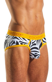 Cocksox Wild Collection Sports Brief - CX76WD