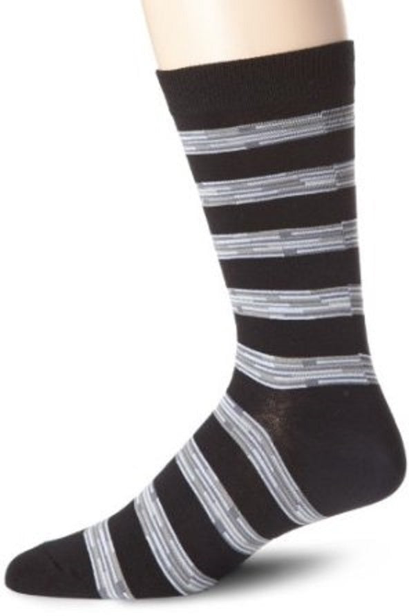 K. Bell Socks Men's Rustic Rugby Crew Sock 10-13 One Size - 64380M