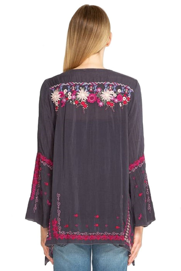 Johnny Was Wish Stitch Tunic - C28718