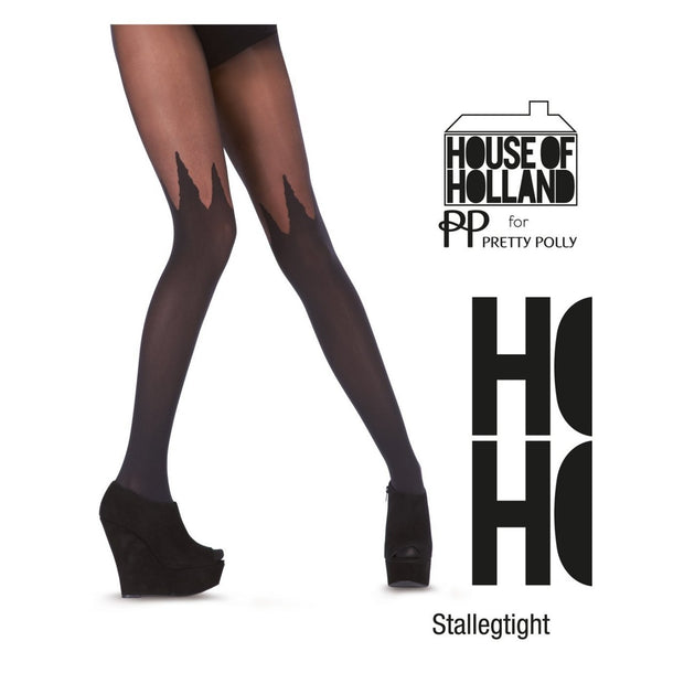 Pretty Polly House of Holland Spike Mock Hold Up Tights - HHAQY5