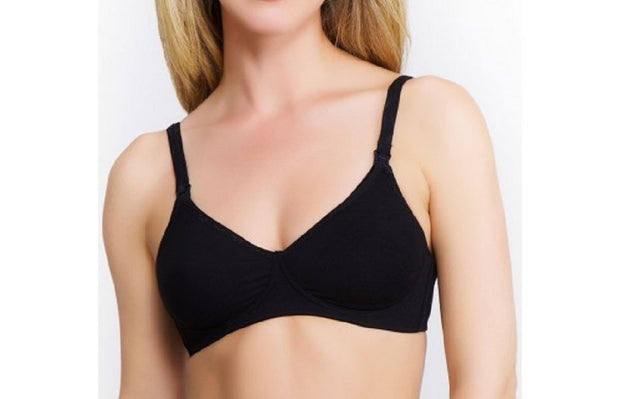 QT Cotton Molded Nursing Softcup Bra - 381