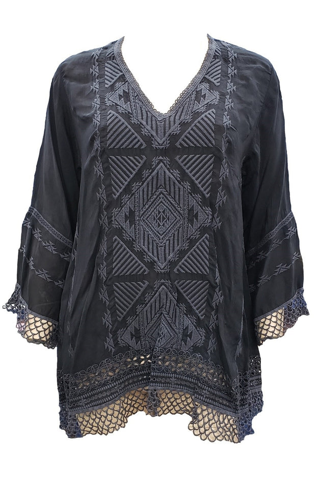 Johnny Was Renee Lace Blouse - C11718