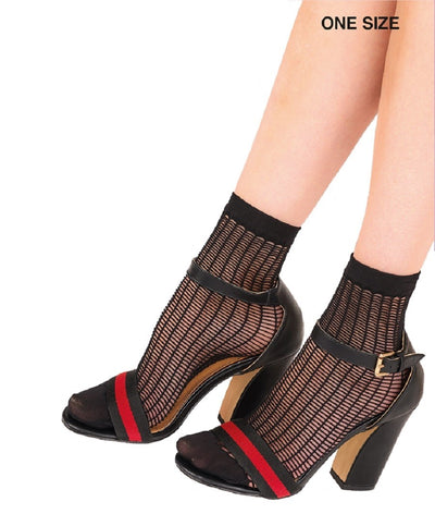 Pretty Polly Ladder Net Anklets One Size - PNAVX5