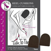 Braza Heel Cushions Talk To The Heel Black 3 Pair - S94000