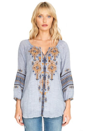 Johnny Was Amika Peasant Blouse - W12619-2