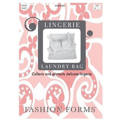 Fashion Forms Large Lingerie Bag LG-White - 887