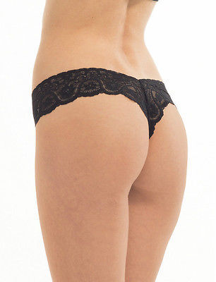 Commando Tulip Lace Thong One Size - TG01