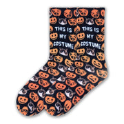 K. Bell Women's Grumpy Cat This Is My Costume Crew Socks - GCWF16H015-01