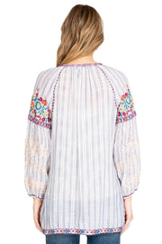 Johnny Was Allegra Peasant Blouse - W13519-3