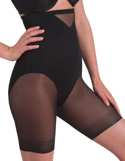 Miraclesuit Sexy Sheer Shaping Hi-Waist Thigh Slimmer - 2789