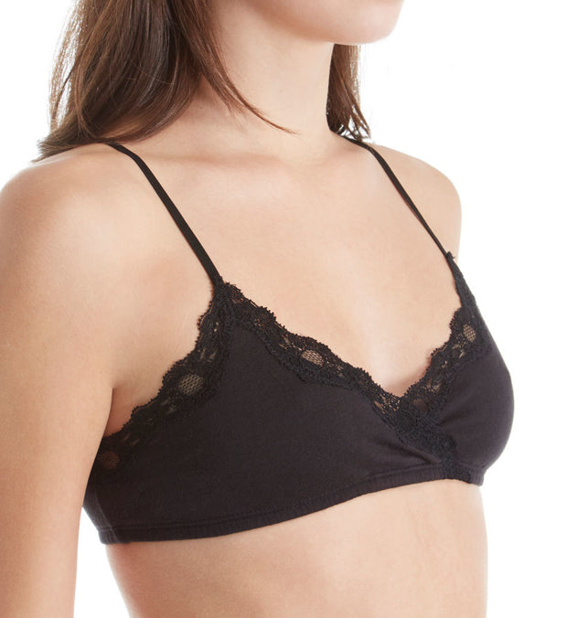 Only Hearts Women's Organic Cotton Wrap Bralette - 1718