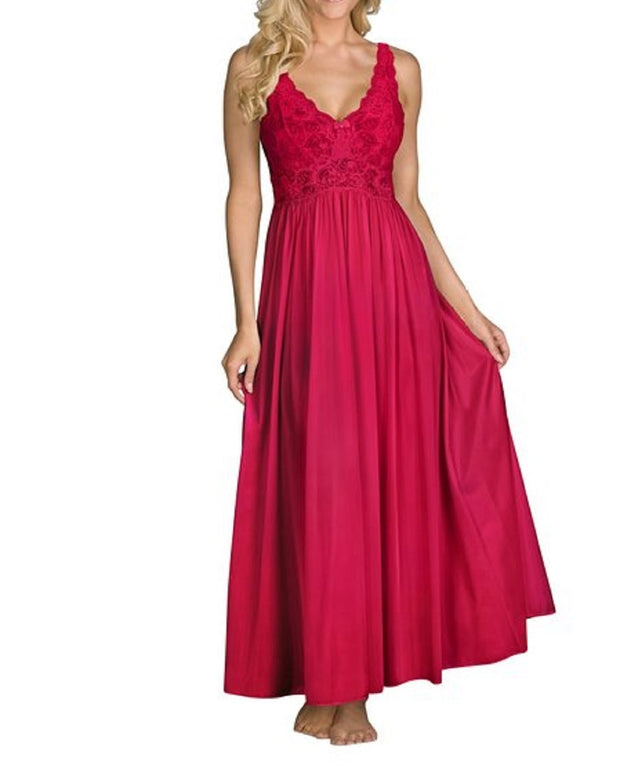 Shadowline Women's Silhouette 53 Inch Sleeveless Long Gown - 31737