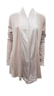 PJ Harlow Women's Shelby Satin Trimmed Robe With Pockets - PJJ01