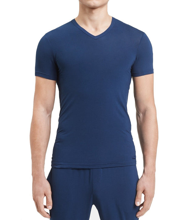 Calvin Klein Men's Ultra-soft Modal V-neck T-Shirt - NM1659