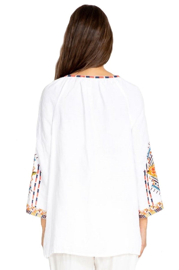 Johnny Was Sentrie Peasant Blouse - J10719-3
