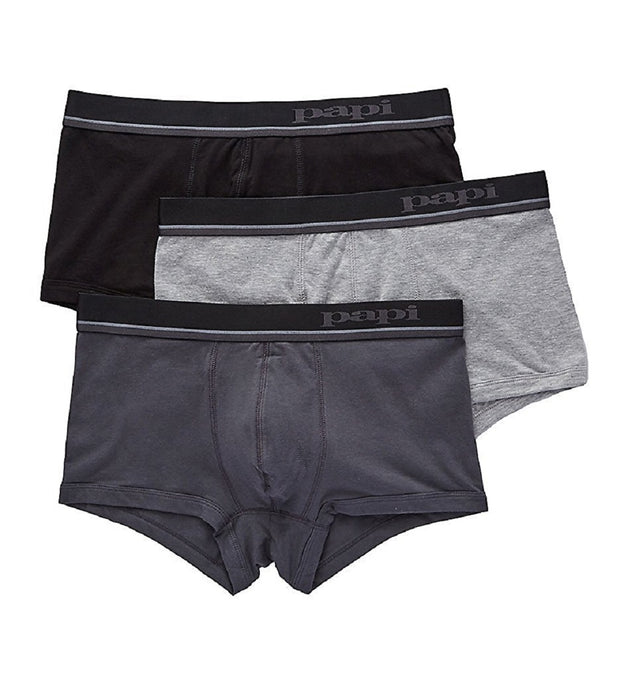 Papi 3-Pack Cotton Stretch Brazilian Trunk - 980527