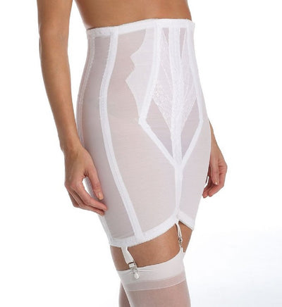 Rago High Waist Open Bottom Girdle with Zipper - 1294